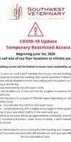 COVID19 Door Notice Changes
